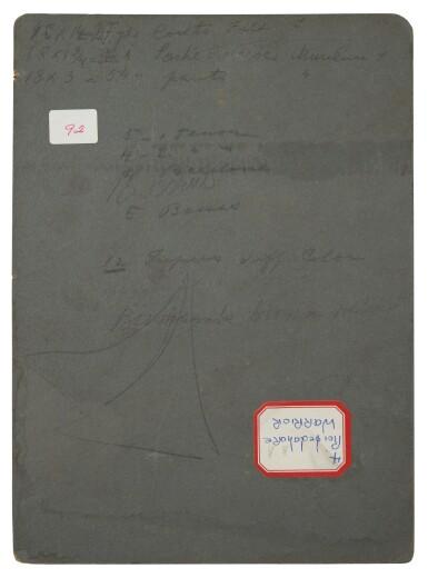 View 5. Thumbnail of Lot 64. BORIS ANISFELD   COSTUME DESIGNS FOR LE ROI DE LAHORE: A PAIR OF WORKS.