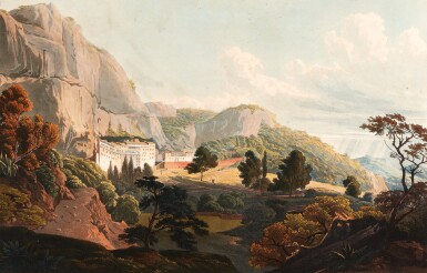 View 2. Thumbnail of Lot 44. Dodwell. Views in Greece. 1821. folio. coloured plates. contemporary morocco.