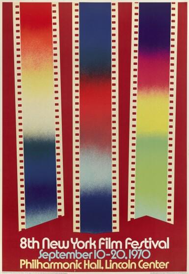 8TH NEW YORK FILM FESTIVAL (1970) POSTER, US