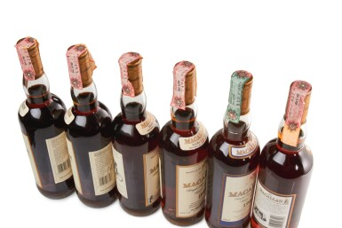 View 3. Thumbnail of Lot 4. THE MACALLAN 18 YEAR OLD 43.0 ABV 1981  .