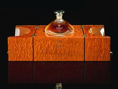 View 2. Thumbnail of Lot 21. The Macallan In Lalique Genesis Decanter 72 Year Old 42.0 abv NV  .