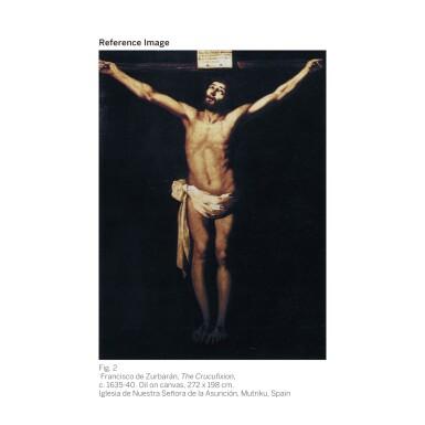View 3. Thumbnail of Lot 12. FRANCISCO DE ZURBARÁN   Christ on the Cross   弗朗西斯科・德・蘇巴蘭   《十字架上的基督》.