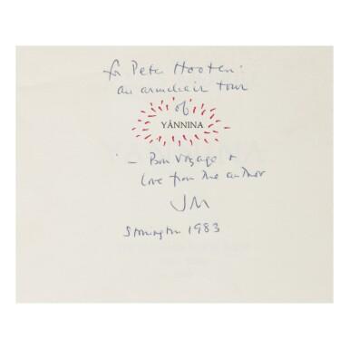 JAMES MERRILL | YÁNNINA. NEW YORK: THE PHOENIX BOOKSHOP, 1972