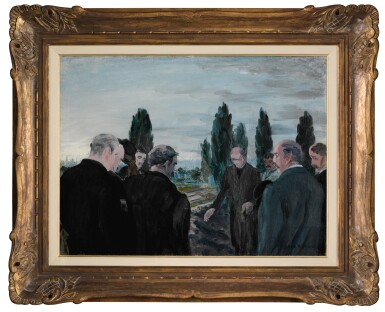 JACK B. YEATS, R.H.A.   EARLY MORNING, GLASNEVIN