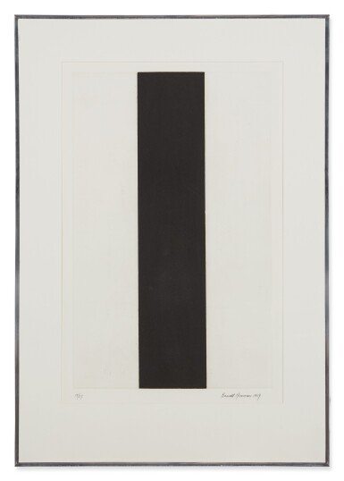 View 2. Thumbnail of Lot 205. BARNETT NEWMAN | UNTITLED ETCHING 2.