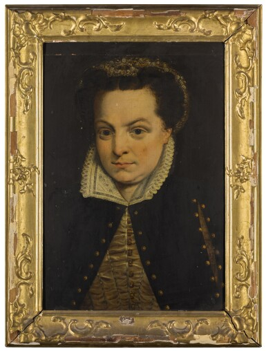 ATTRIBUTED TO WILLEM KEY | Portrait of Margaret, Duchess of Parma and Governor of the Netherlands (1522-1586), bust length