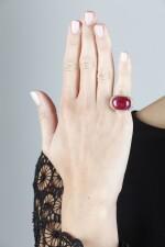 BULGARI | RUBY AND DIAMOND RING