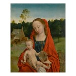 NETHERLANDISH SCHOOL, 16TH CENTURY | VIRGIN AND CHILD IN A LANDSCAPE
