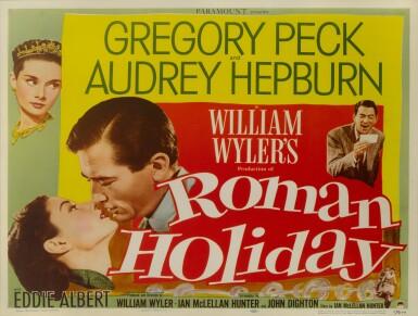 ROMAN HOLIDAY (1953) POSTER, US