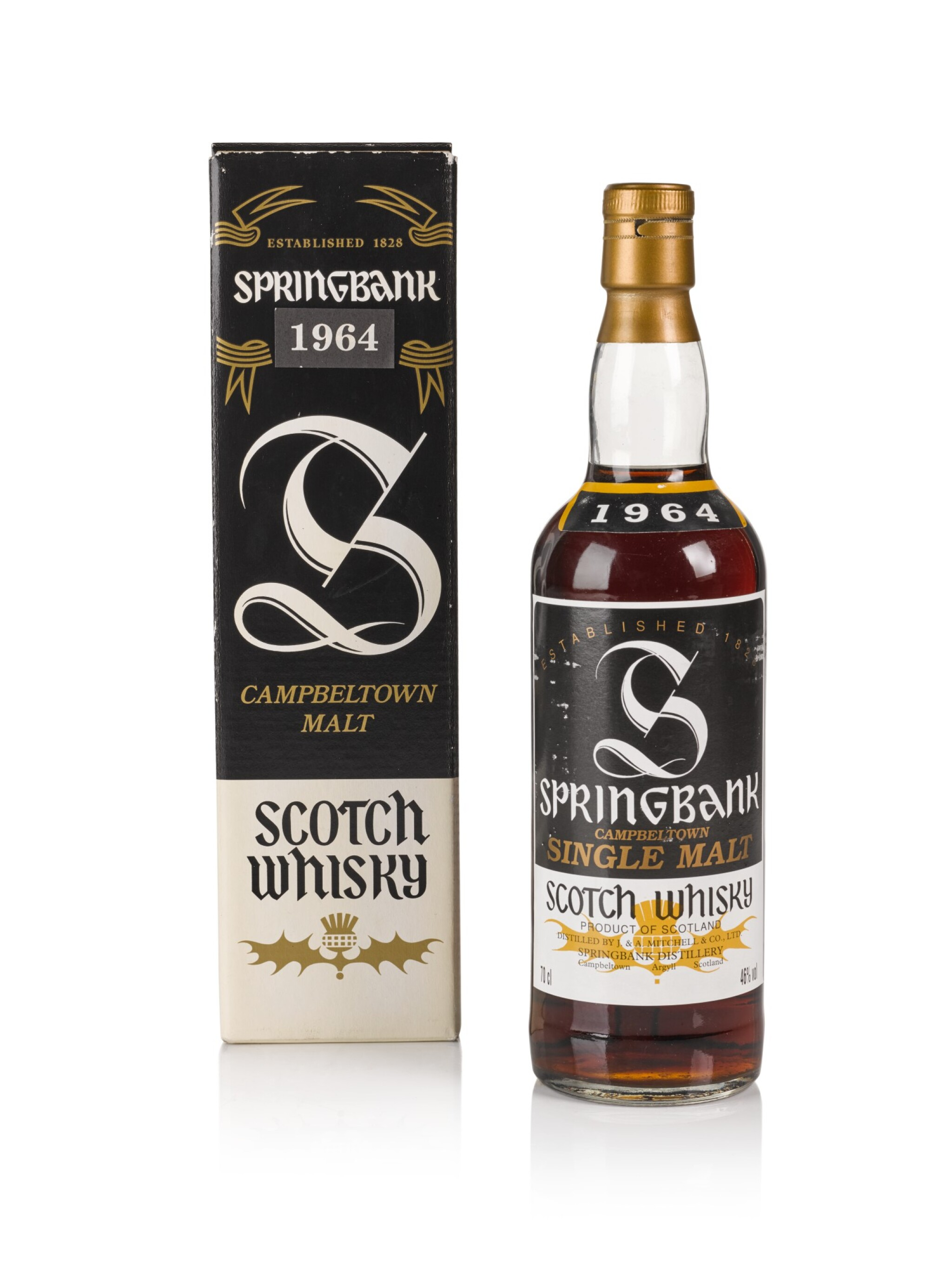 View full screen - View 1 of Lot 149. Springbank 46.0 abv 1964 .