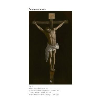 View 2. Thumbnail of Lot 12. FRANCISCO DE ZURBARÁN   Christ on the Cross   弗朗西斯科・德・蘇巴蘭   《十字架上的基督》.