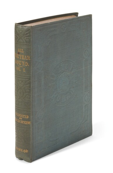 View 3. Thumbnail of Lot 177. Dickens, All the Year Round, 1859-68, 19 volume set .