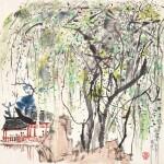 Wu Guanzhong 吳冠中 | A Garden in Suzhou 蘇州園林