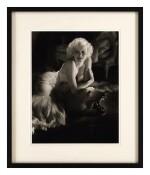 Jean Harlow limited edition hand developed silver gelatin studio portrait photograph, 1979/80, US
