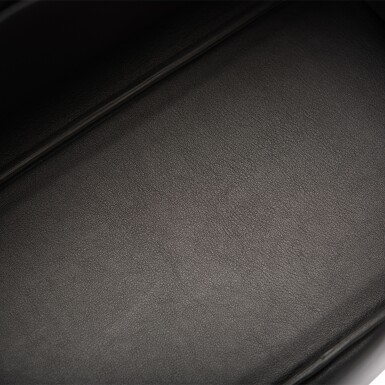 View 7. Thumbnail of Lot 32. Hermès Black Shadow Birkin 35cm of Swift Leather.