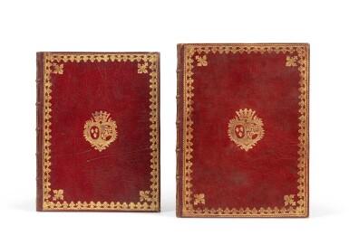 View 1. Thumbnail of Lot 91. 2 livrets d'opéra aux armes de la comtesse de Provence..