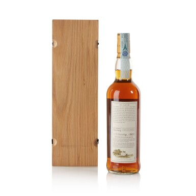 View 2. Thumbnail of Lot 35. The Macallan Fine & Rare 52 Year Old 46.7 abv 1950 .