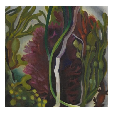 View 1. Thumbnail of Lot 25. GEORGIA O'KEEFFE | SEAWEED.