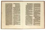 Turrecremata, Expositio super toto psalterio, Strassburg, 1487, modern boards