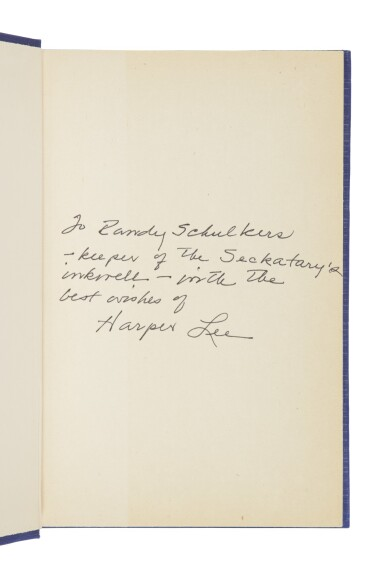 """View 5. Thumbnail of Lot 146. LEE, HARPER 