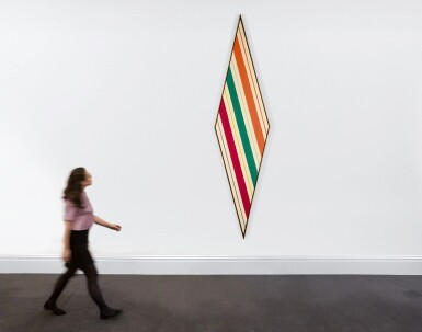 View 3. Thumbnail of Lot 818. KENNETH NOLAND | KEEN TRANSIT.