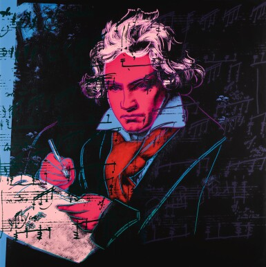 View 4. Thumbnail of Lot 188. ANDY WARHOL | BEETHOVEN (F. & S. II.390-393).