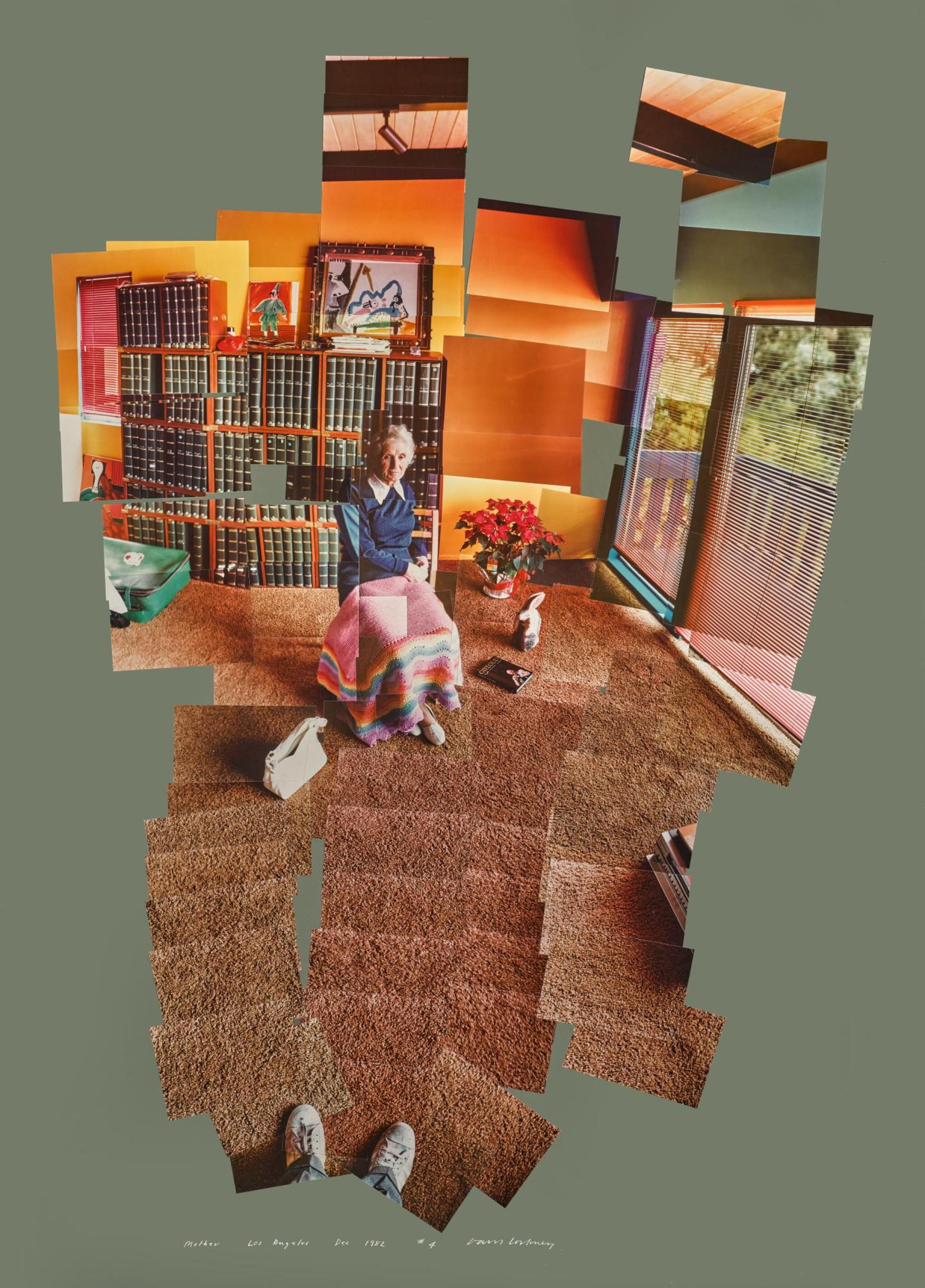 View full screen - View 1 of Lot 237. DAVID HOCKNEY, R.A. | MOTHER, LOS ANGELES, DECEMBER 1982.