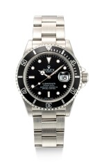 ROLEX | SUBMARINER, REFERENCE 16610T, A STAINLESS STEEL WRISTWATCH WITH DATE AND BRACELET, CIRCA 2007
