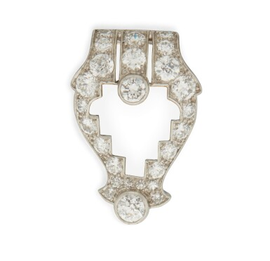 DIAMOND CLIP, CARTIER