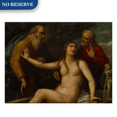 View 1. Thumbnail of Lot 41. Susanna and the Elders.