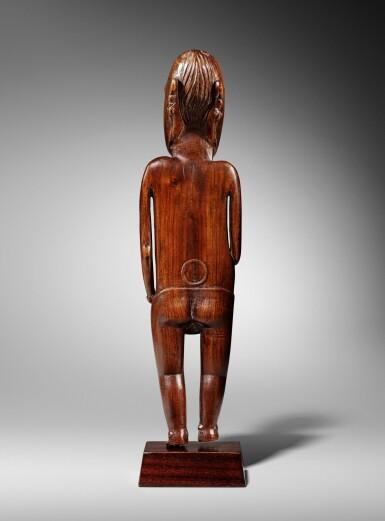 View 5. Thumbnail of Lot 64. Statue, Moai Papa, Île de Pâques | Moai Papa figure, Easter island.