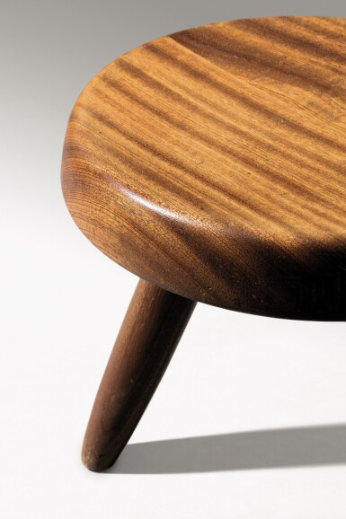 View 4. Thumbnail of Lot 14. Berger stool, designed in 1953.