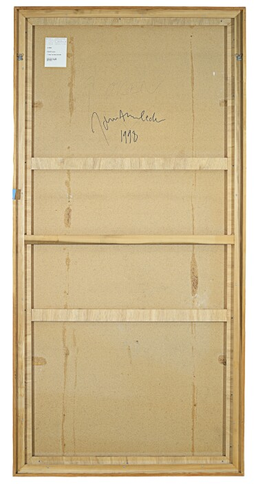 View 3. Thumbnail of Lot 54. Untitled (door panel), 1998.