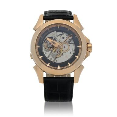 View 1. Thumbnail of Lot 25. Ref. GTM 06 Pink gold minute repeating tourbillon wristwatch Circa 2008 | Grönefeld GTM 06型號粉紅金三問陀飛輪腕錶,年份約2008.