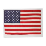 [APOLLO 10]. FLOWN ON APOLLO 10. LARGE UNITED STATES OF AMERICA FLAG FROM THE COLLECTION OF JOHN YOUNG