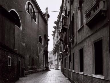View 5. Thumbnail of Lot 36. 'Clinton Road', Murdock Cottages, London, 1977; 'Panorama 2', Beaugrenelle, Paris, 1979; 'Gereonswall', Koln, 1980; 'Calle Tintoretto', Venezia, 1990.