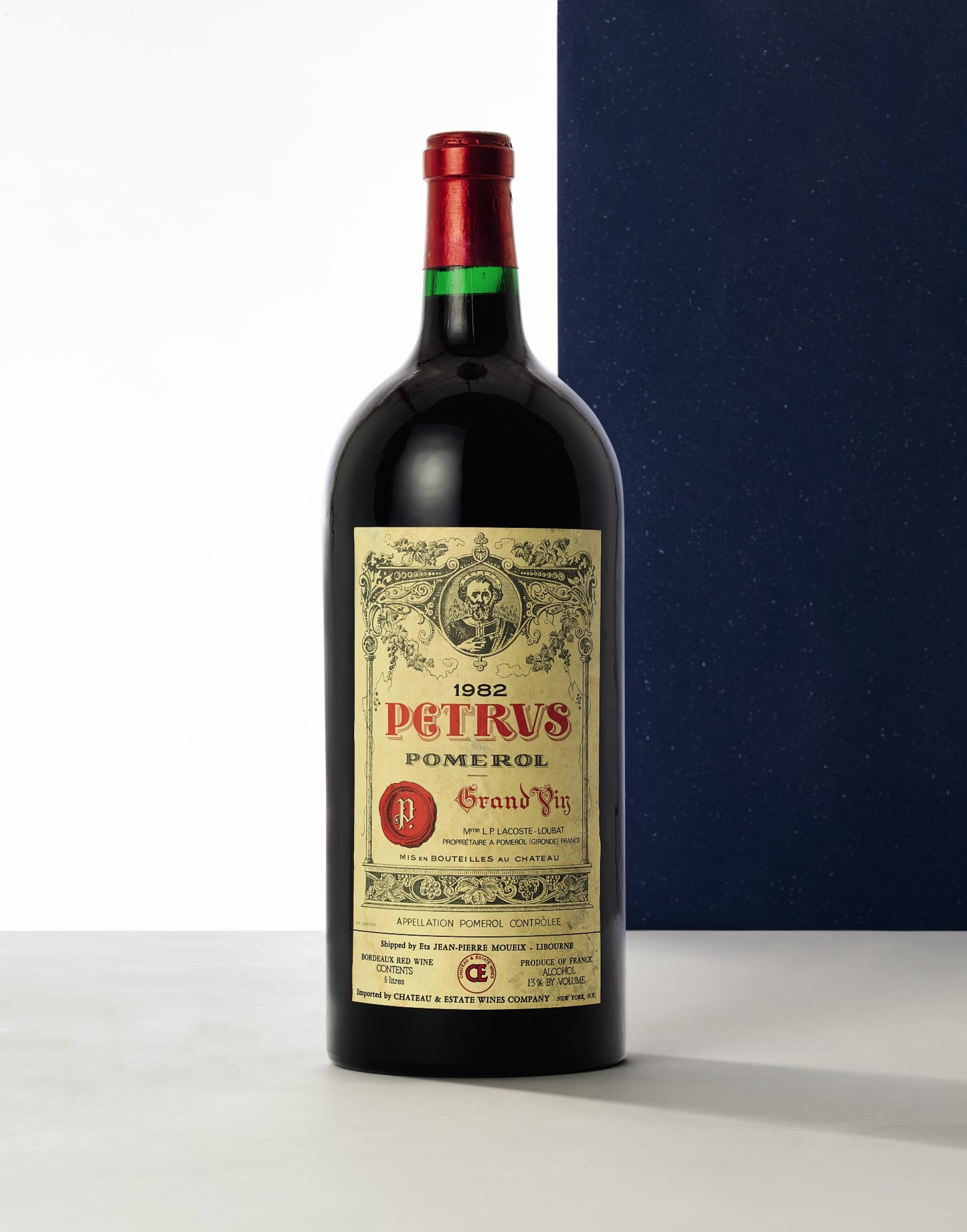 View full screen - View 1 of Lot 8030. Petrus 1982 (1 JM50).