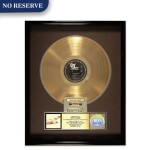 """RIAA 1987 Gold Sales Award presented to Hester Diamond for the Beastie Boys 1986 album """"Licensed to Ill"""""""