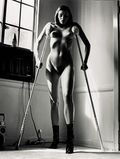 View 1. Thumbnail of Lot 65. HELMUT NEWTON | 'ERICA'S ACCIDENT', HOLLYWOOD, 1987 .