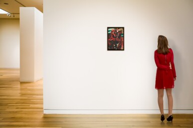 View 4. Thumbnail of Lot 80.  FOUAD KAMEL | UNTITLED (WOMAN WITH A HORSE).