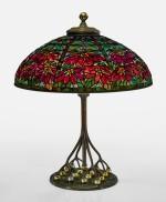"TIFFANY STUDIOS | ""DOUBLE POINSETTIA"" TABLE LAMP"