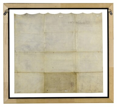 View 2. Thumbnail of Lot 117. THE AFRICAN FREE SCHOOL | Indenture signed, New York, 22 July 1794.