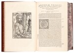 Vesalius | De humani corporis fabrica, Basel, 1555, modern crushed burgundy morocco