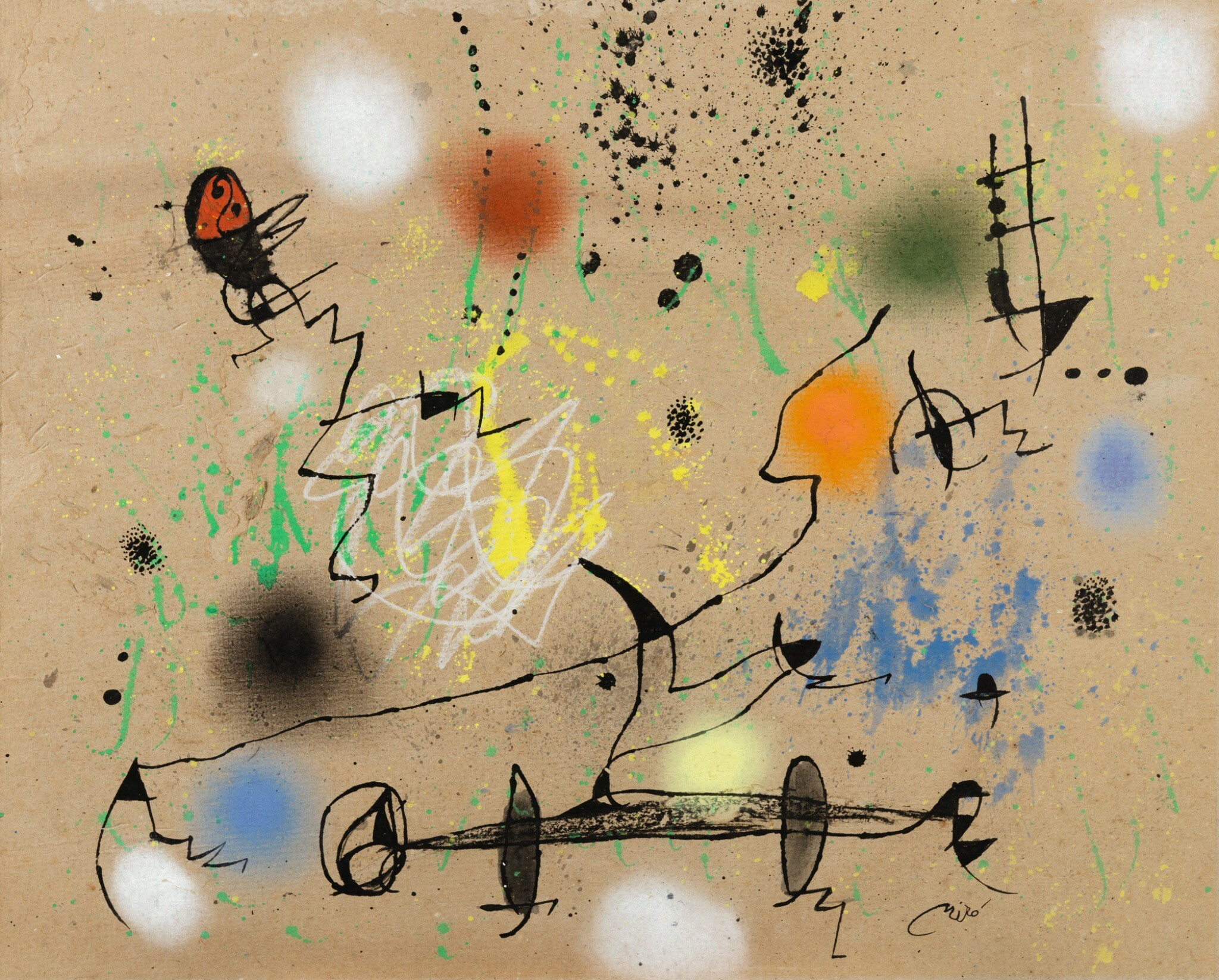 View full screen - View 1 of Lot 126. JOAN MIRÓ |  PAYSAGE.