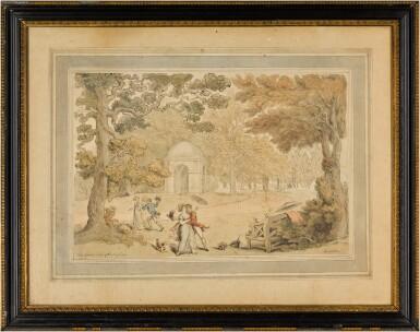 View 2. Thumbnail of Lot 33. Stowe Gardens, Buckinghamshire.