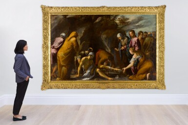View 4. Thumbnail of Lot 106. The Raising of Lazarus.