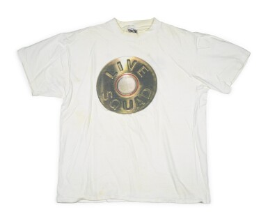 View 8. Thumbnail of Lot 75.  [PRINCE PAUL]   Collection of 15 Vintage Hip Hop T-Shirts from Paul's personal collection.