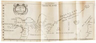 View 4. Thumbnail of Lot 164. LA PEYRÈRE. Relation du Groenland. Paris, Augustin Courbé, 1647. Reliure du XIXe. Edition originale. .