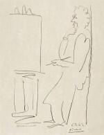 PABLO PICASSO | LE PEINTRE ET SON MODÈLE (B. 1034; M. 353)