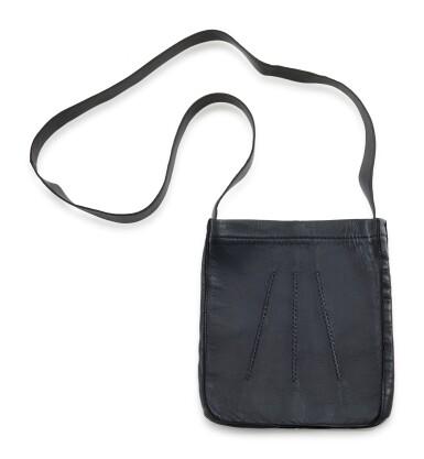 Dark blue leather and palladium hardware, Clou de Selle, Hermès